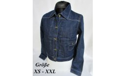 Denim Worker Jacke Trucker Jacket Women's Rockabilly 30er 40er Jahre Jeansjacke 2541_0