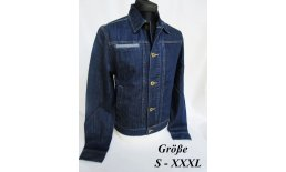 Denim Worker Jacke Trucker Jacket Men's Rockabilly 30er 40er Jahre Jeansjacke 2540_0